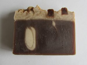 French Vanilla Coffee Bean Handmade Soap