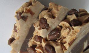 French Vanilla Coffee Bean Artisan Handmade Soap